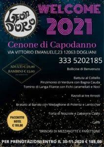 Capodanno al Leon D'Oro Dogliani