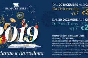 Capodanno a Barcellona con Grimaldi Lines