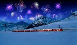 Capodanno Valtellina Trenino Rosso