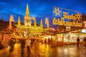 Capodanno a Vienna: il mercatino