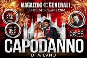 Capodanno Magazzini Generali di Milano