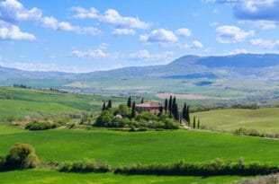Agriturismi, paesaggio collinare