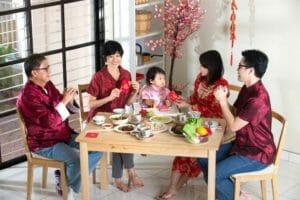 Capodanno Cinese, una famiglia