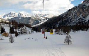 Sciare a capodanno sulle Dolomiti