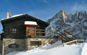 Rifugio sulle Dolomiti in Trentino