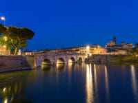 Capodanno a Rimini, il Ponte Tiberio