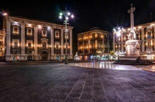 Capodanno a Catania, la piazza