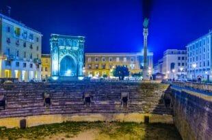 Capodanno a Lecce, il centro