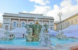 Capodanno a Pesaro, la piazza