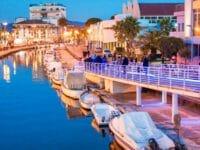 Capodanno a Viareggio, il lungo canale