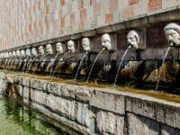 Capodanno a L'Aquila, la fontana
