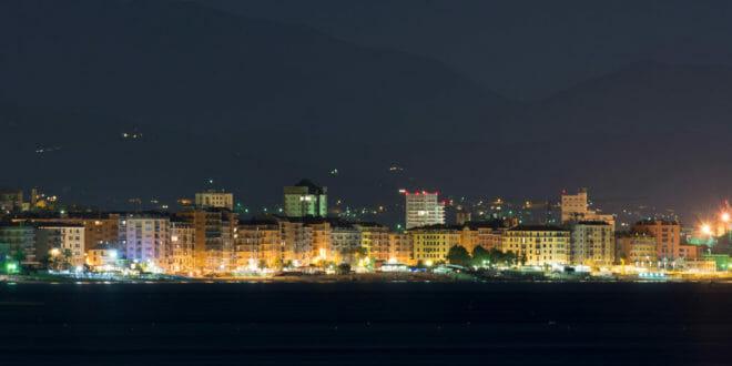 Capodanno a Savona, il lungomare