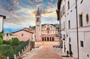 Capodanno a Spoleto, il duomo