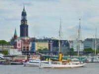 Capodanno a Amburgo, il porto