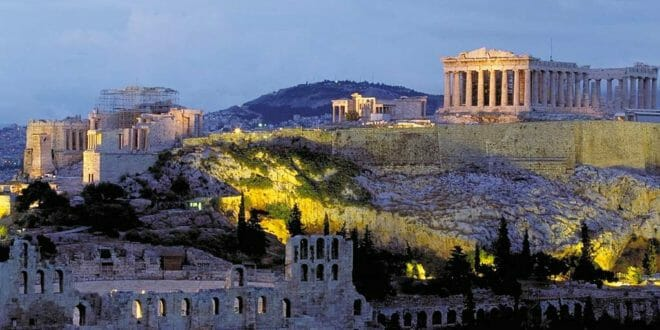 Capodanno ad Atene, l'Acropoli.