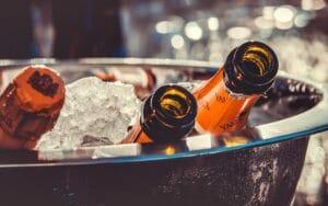 Festeggiamenti di Capodanno, bottiglie