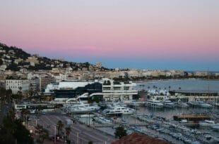 Capodanno a Cannes, il lungomare.