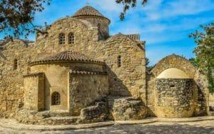 Capodanno a Cipro, una chiesa.