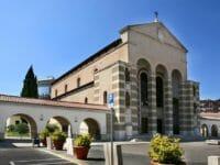 Capodanno a Latina, la chiesa