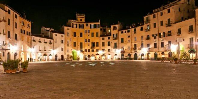 Capodanno a Lucca, la piazza