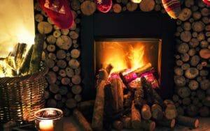 Immagini di Capodanno, in casa