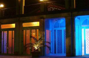 Capodanno alla Capannina di Viareggio, l'esternoCapodanno alla Capannina di Viareggio, l'esterno