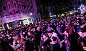 Capodanno Extrafest Cinecittà World, la festa