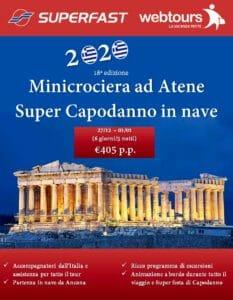Capodanno Superfast Minicrociera Atene