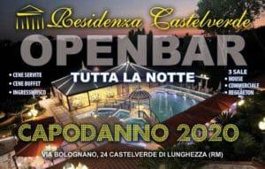Capodanno alla Residenza Castelverde Roma