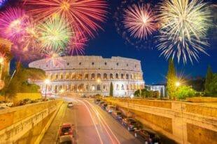 Capodanno a Roma: la festa al Circo Massimo