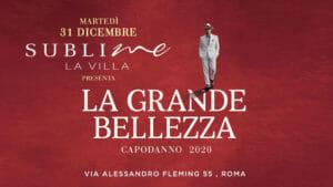 Capodanno Sublime Villa Roma