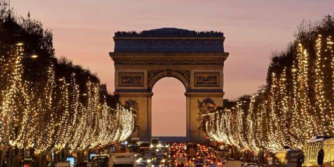 Capodanno sugli Champs Elysees
