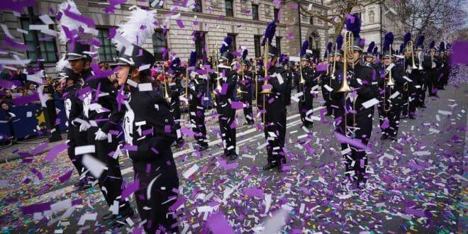 Parata di Capodanno a Londra