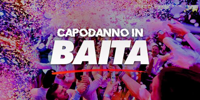Capodanno White Invasion in baita