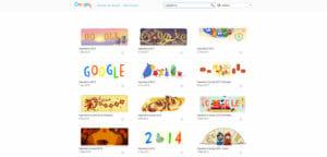 Google doodle di capodanno